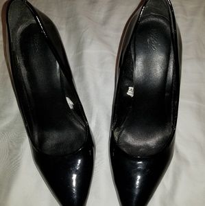 Black Massimo heels